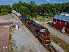 NS 8102 | GE ES44AC | NS Memphis District West End