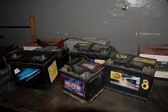 baterías viejas