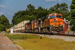 BNSF 7303 | GE ES44DC | NS Memphis District West End