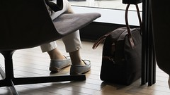 HANEDA Airport Terminal Lounge.