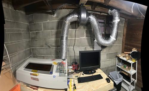 Laser Cutter Exhaust