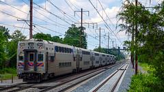 MTA Maryland MARC Commuter Rail Kawasaki Coaches