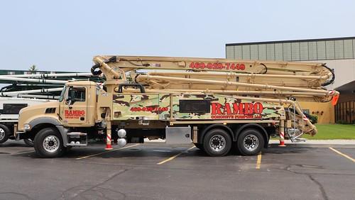 Rambo Concrete Pumping, LLC Truck