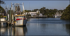 Trawler on Cabbage Tree Creek Sandgate-2=