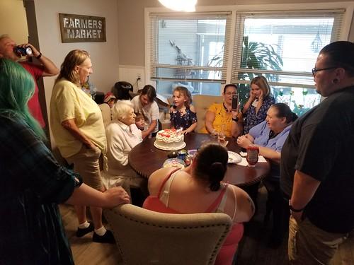 MIL Pearl's 77th Birthday - 2019