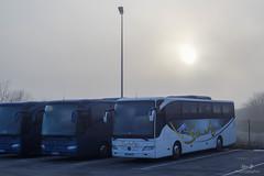 Mercedes-Benz Tourismo 15RHD n°592 et Mercedes-Benz Tourismo 15RHD n°725 - Keolis STRIEBIG