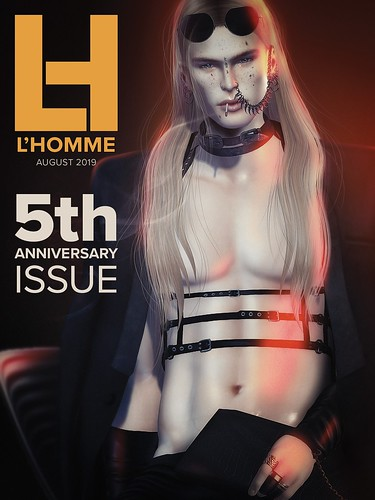 L'Homme cover august 2019