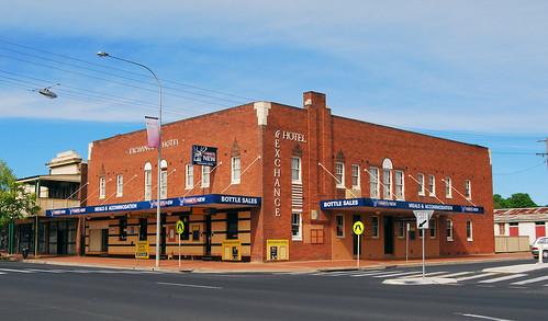 Exchange Hotel, Blayney, NSW.