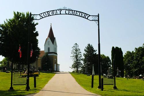 Norway Lutheran Church Cemetery - Wind Lake, Wisconsin