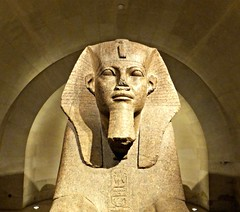 Egyptian Collection, the Louvre, Paris France.