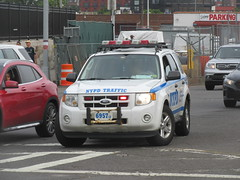 NYPD Ford Escape