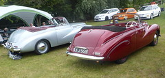 Sunbeam-Talbot 90 Drophead Coupe (1954, left & 1951)