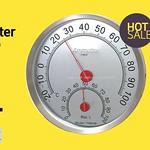 ขายเครื่องวัดความชื้น อุณหภูมิแบบเข็ม วัดค่าแม่นยำ ทนทาน ราคาสุดคุ้ม งานสแตนเลสอย่างดี