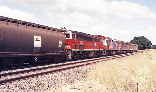126-27 1992-02-15 8015 8037 8024 8040 and 4482 at Spring Hill