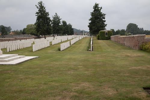 La Clytte Military Cemetery.