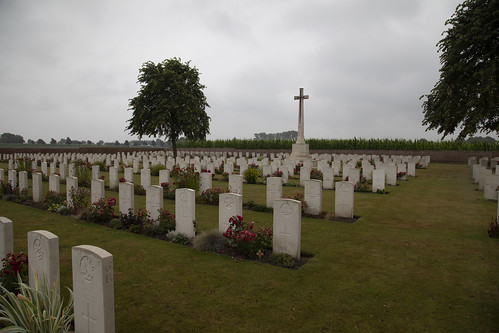 Huts Military Cemetery.