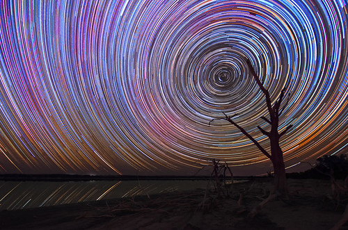 Yenyening Lakes Star Trails - Beverley, Western Australia