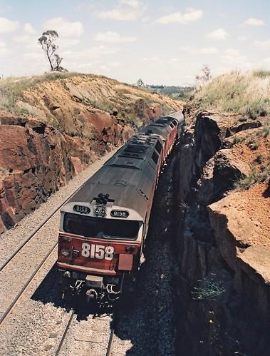 129-33 1992-02-16 8158 and 8178 on WL-2 at Wambool
