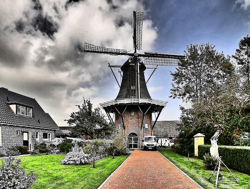 Windmühle Loppersum