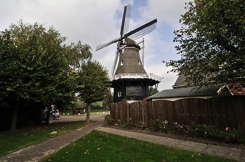 Windmühle Zeerijp