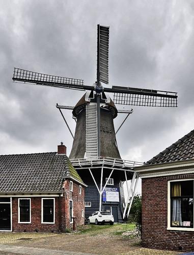Windmühle Spijk