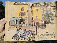 Rue Bremond d'ars - Le bar du ciné