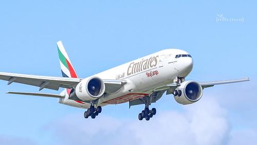 A6-EFN Emirates Boeing 777-F1H cn 42232 AMS/EHAM