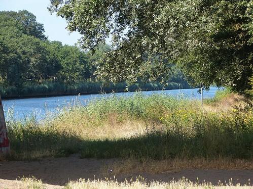 View at Twentekanaal near Goor