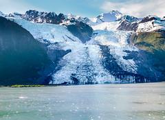 Glaciers in College Fjord, Alaska