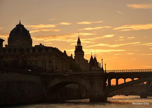 Fin d'après midi sur la Seine - Bateaux Parisiens