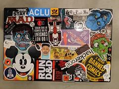 New laptop sticker-job, home, Burbank, Caliornia, USA 1