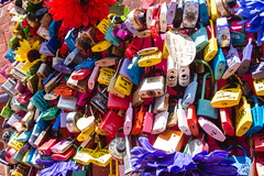 Colorful Locks for Commitment, Love or Friendship
