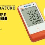 จำหน่ายเครื่องวัดอุณหภูมิ-ความชื้นสัมพัทธ์แบบdata logger  Elitech GSP6