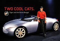 2001 Buick Bengal 2+2 Concept Car with Tiger Woods