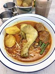 咖哩雞板麵, 炒粿條, 美祿爆爆冰, 面對面, Face to Face Noodle House, 馬來西亞小吃, 台北, 台灣, Taipei, Taiwan