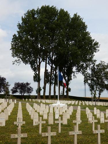 Cimetière militaire français 1940 de Chastre
