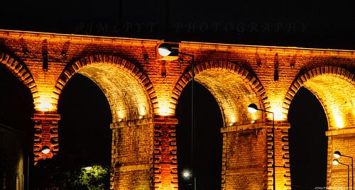 Viaduc de Bandol de nuit - Côte d'Azur France -3D0A0480