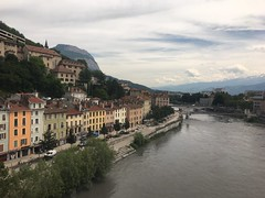 Grenoble city center - Photo of Montchaboud