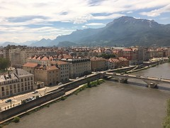 Grenoble city center