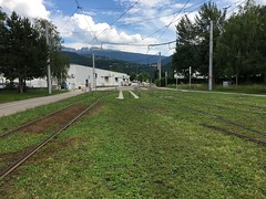 Grenoble SÉMITAG tram tracks