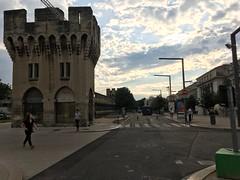Avignon old city ramparts