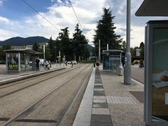 Grenoble SÉMITAG tram Bibliothèques Univérsitaires stop
