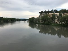 The Rhône river