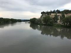 The Rhône river