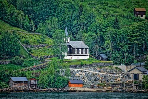 Scene on the Olden Fjord