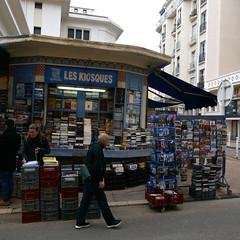 Toulon, le Kiosque