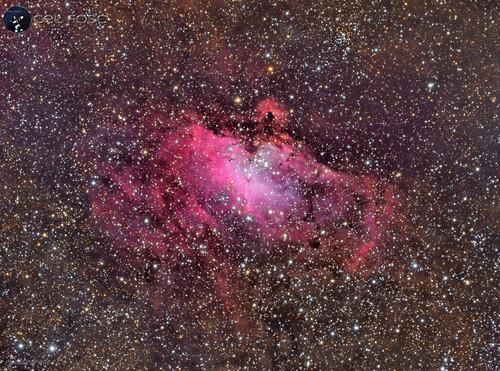 Messier 16 LRGB