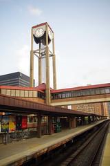 White Plains train station, NY, USA