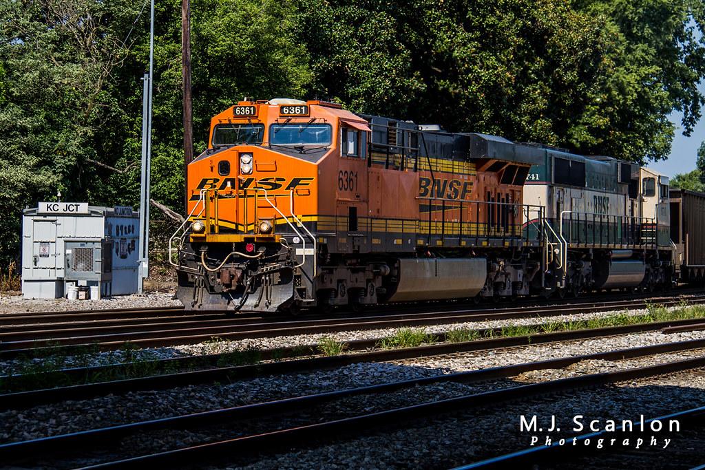 BNSF 6361 | GE ES44AC | NS Memphis District West End