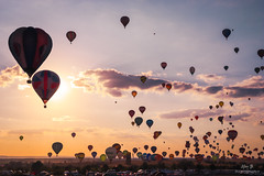 Envol de masse des montgolfières - GEMAB19